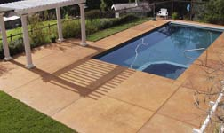 South Florida Stamped Concrete Pool Decks