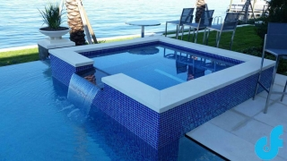 Swimming Pool Mosaics and Glass Tiles