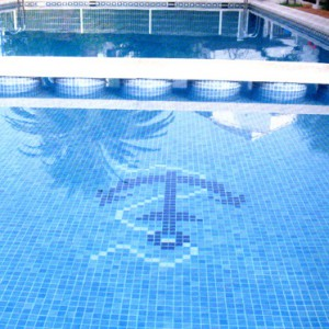 Pool Mosaics Glass Tile