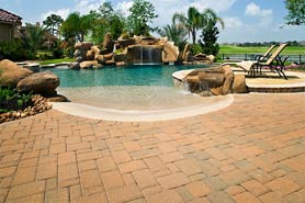 Brick Paver Pool Decks